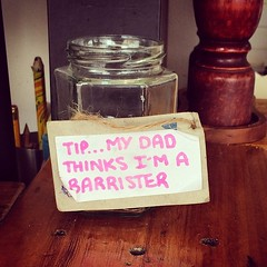 Melbourne tip jar exhibit one