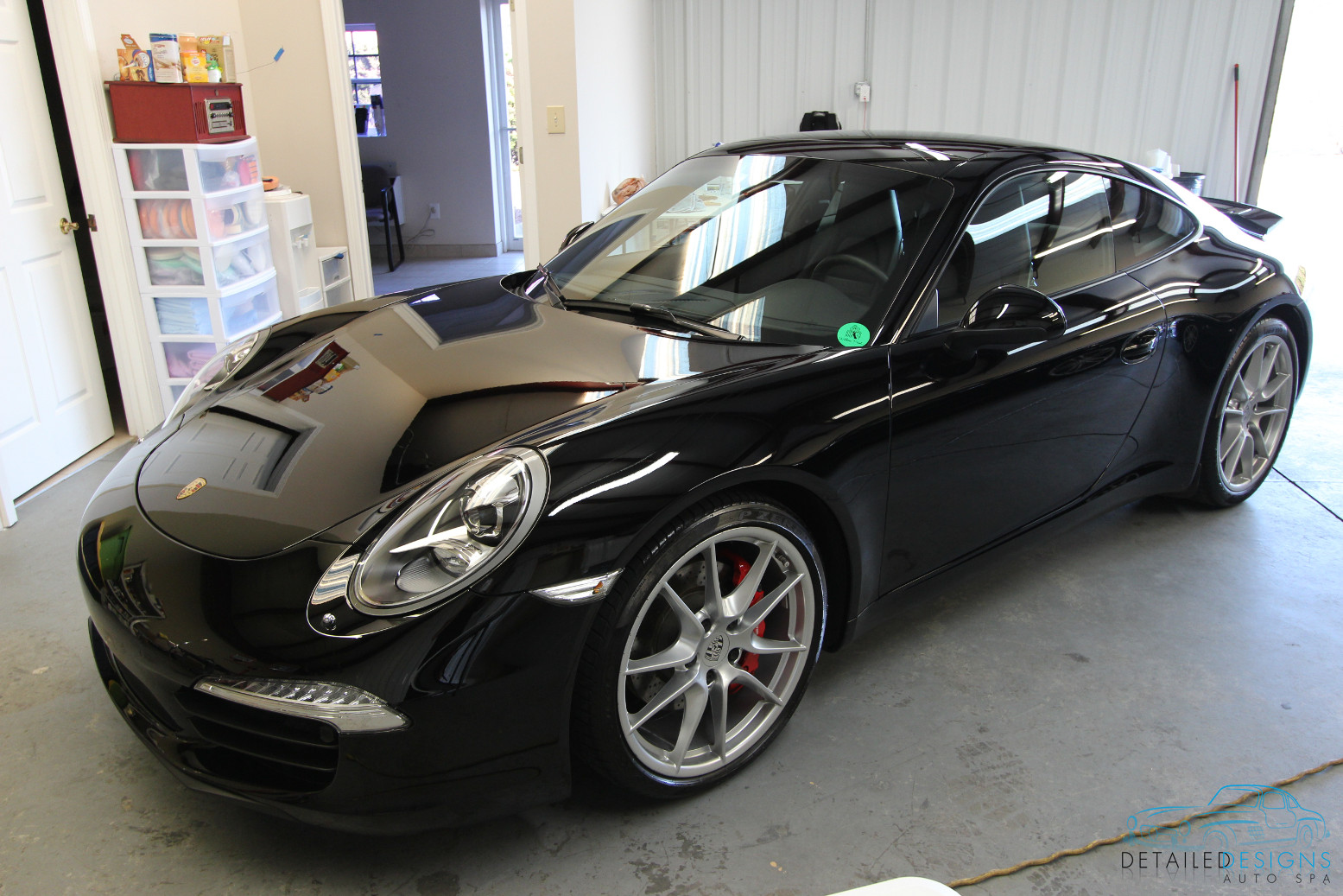 Atlanta Porsche Clear Bra PPF Paint Protection Film
