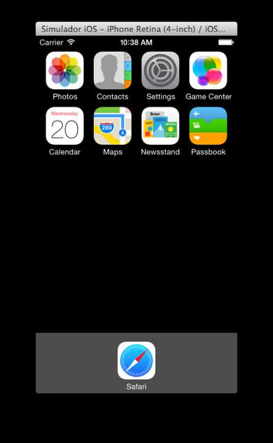 Simulador iOS