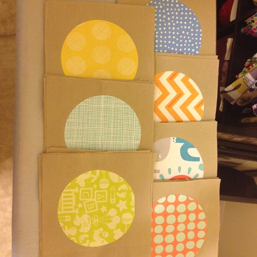 Circle Baby Quilt
