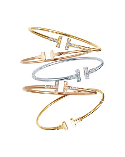 Tiffany Co S Tiffany T Collection Launches In The United States Top Tiffany Bracelets