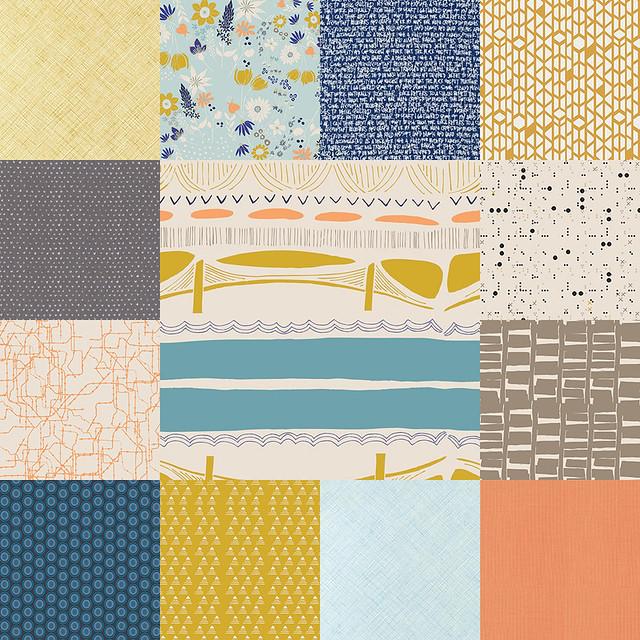 Stash Fabrics Sept 2014
