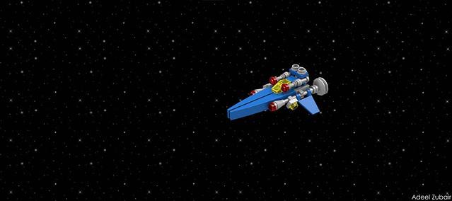 LEGO Neo-Classic Space Future Space Cruiser