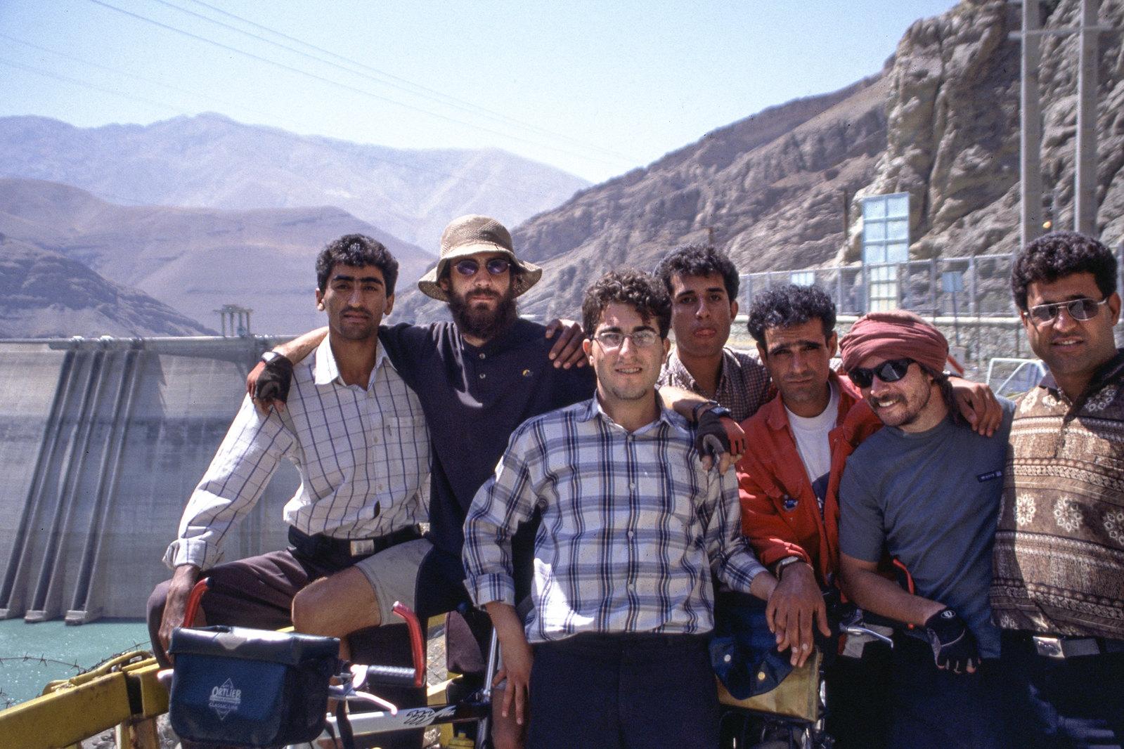 Des potes iraniens, quelque part dans les Monts Elbourz
