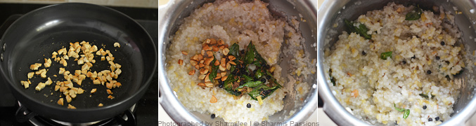 How to make varagu ven pongal - Step3
