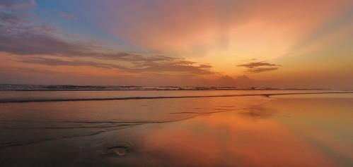 sunset sea sky seascape beach nature water sunshine canon landscape waves dusk bangladesh coxsbazar