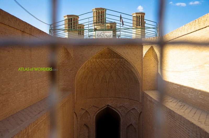 Depósito agua Irán