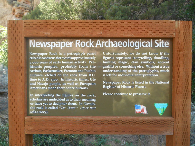 Newspaper Rock, Monticello, UT (2)