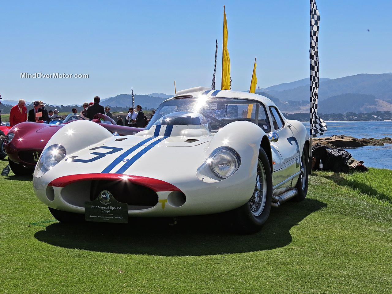 Pebble Beach 2014-Maserati Tipo 151