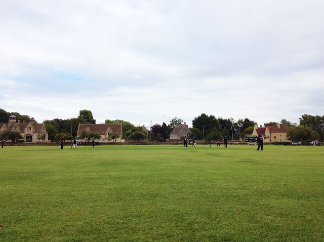 Cricket in Corsham
