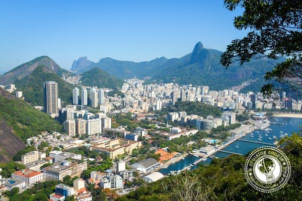 The Best Views in Rio Botafogo Rio de Janeiro Morro da Urca View