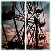 Last #secretcinema one, promise! #ferriswheel #sunset #backtothefuture #bigwheel