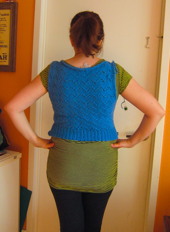 Hetty cardigan progress