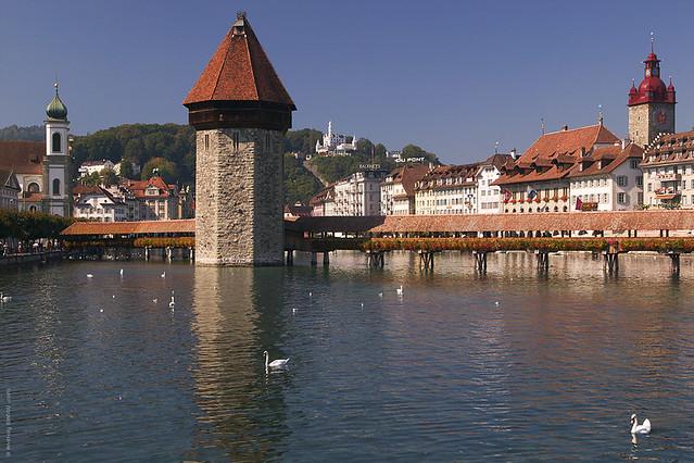 Lucerne - Kapellbrücke – AI.100116.0036