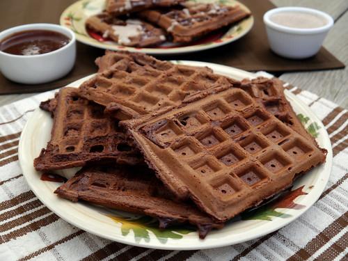 Waffle Wednesday - Chocolate Beer Waffles (0004)