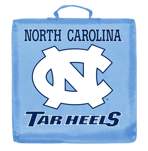 North Carolina Tar Heels Stadium Cushion