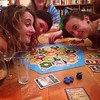 Learning how to play Settlers of Catan. Kill 'em all.