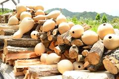 薪とひょうたん