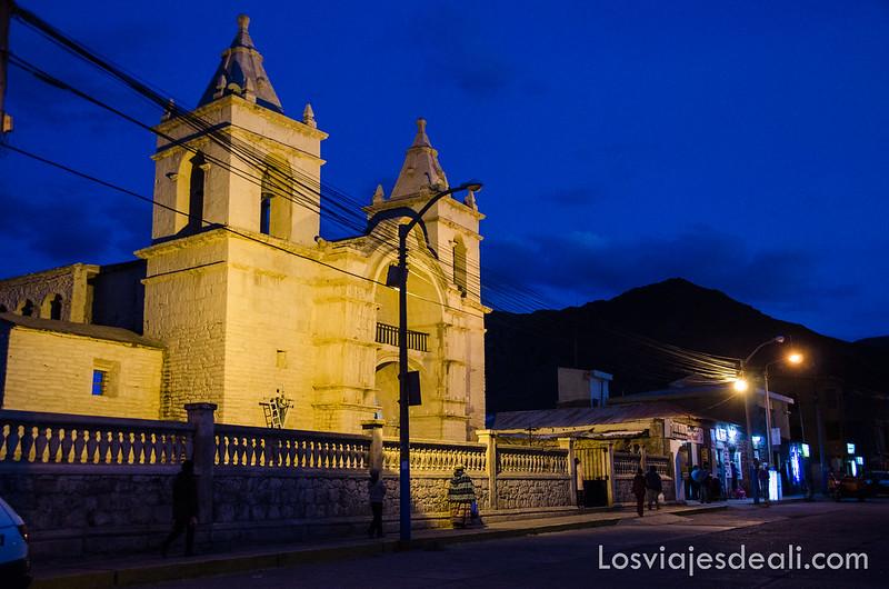 Los pueblos del valle del Colca iglesia de Chivay