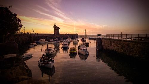 windows sunset sea boats nokia harbour 1520 lynton lumia