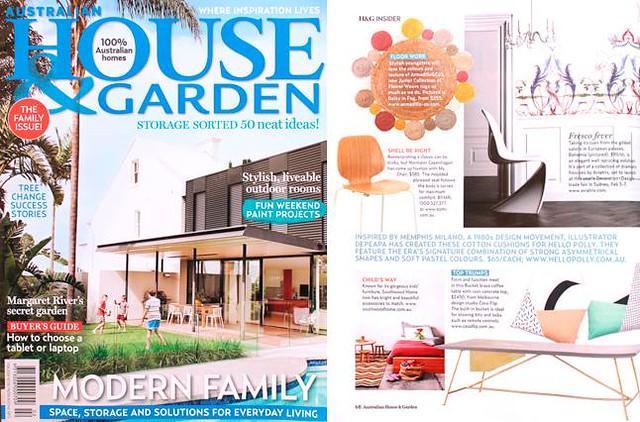 Depeapa en House and Garden