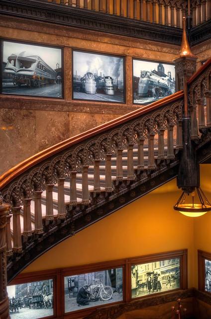 Stairs at Hilton Garden Inn