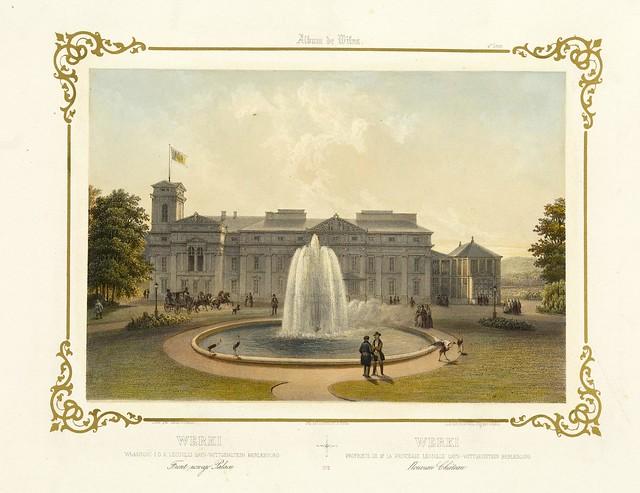 002-Palacio en Werkei-Album Vilnius-Biblioteca Polona