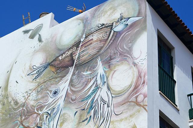 Periplo, Street Art, Ranilla, Puerto de la Cruz, Tenerife