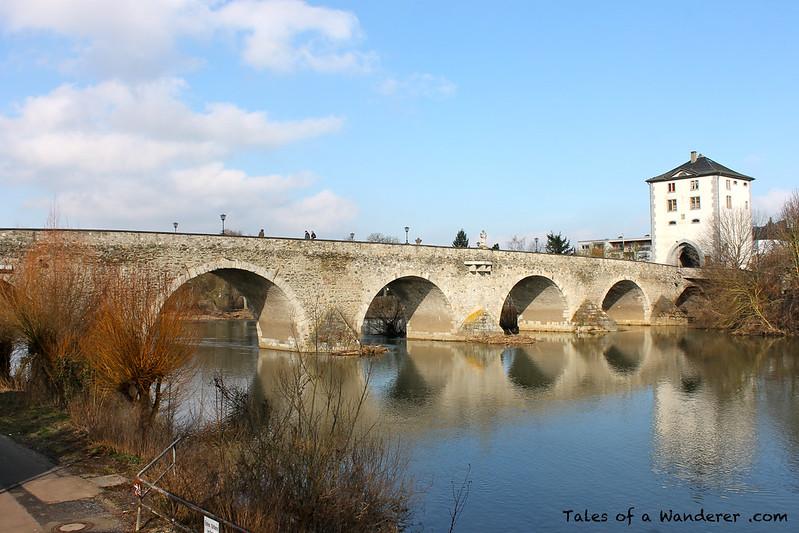 LIMBURG AN DER LAHN - Alte Lahnbrücke