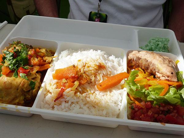 plateau repas malgache