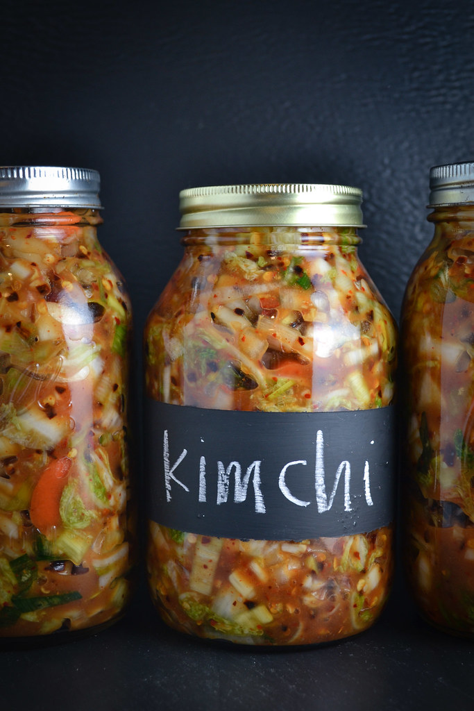 Kimchi {Fermented Korean Cabbage} | Things I Made Today