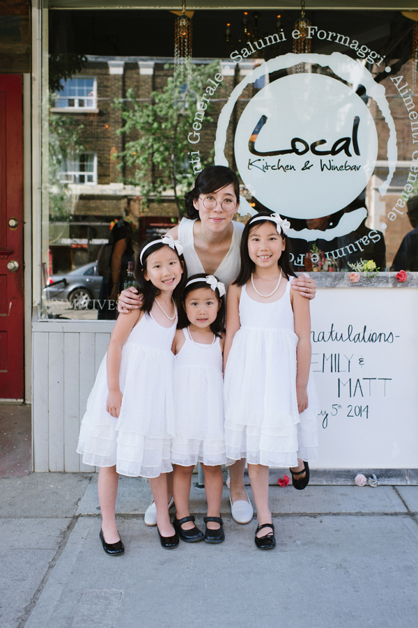Celine Kim Photography intimate High Park Parkdale restaurant wedding Toronto wedding EM-52
