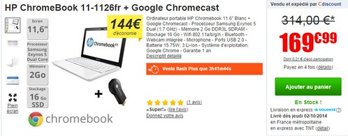 2014-09-30 11_18_18-HP ChromeBook 11-1126fr + Google Chromecast - Achat _ Vente ORDINATEUR PORTABLE