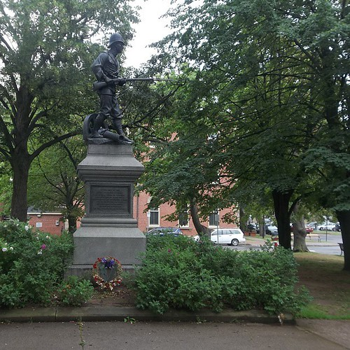 Boer War memorial commemorating Island losses at Paardeberg, Charlottetown