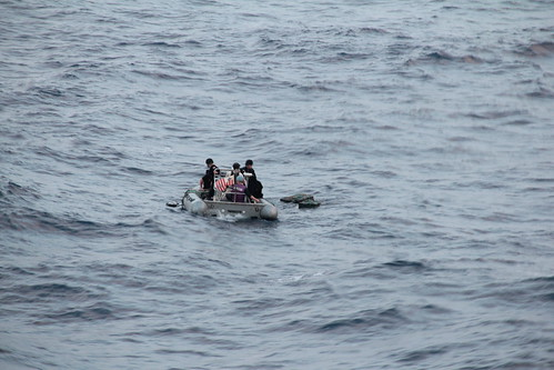 USS Ingraham Intercepts 680 Kilograms of Cocaine in Eastern Pacific