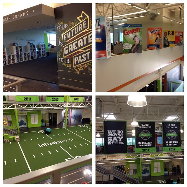 Super inspired by the @infusionsoft HQ. @rootradius #makeittrue