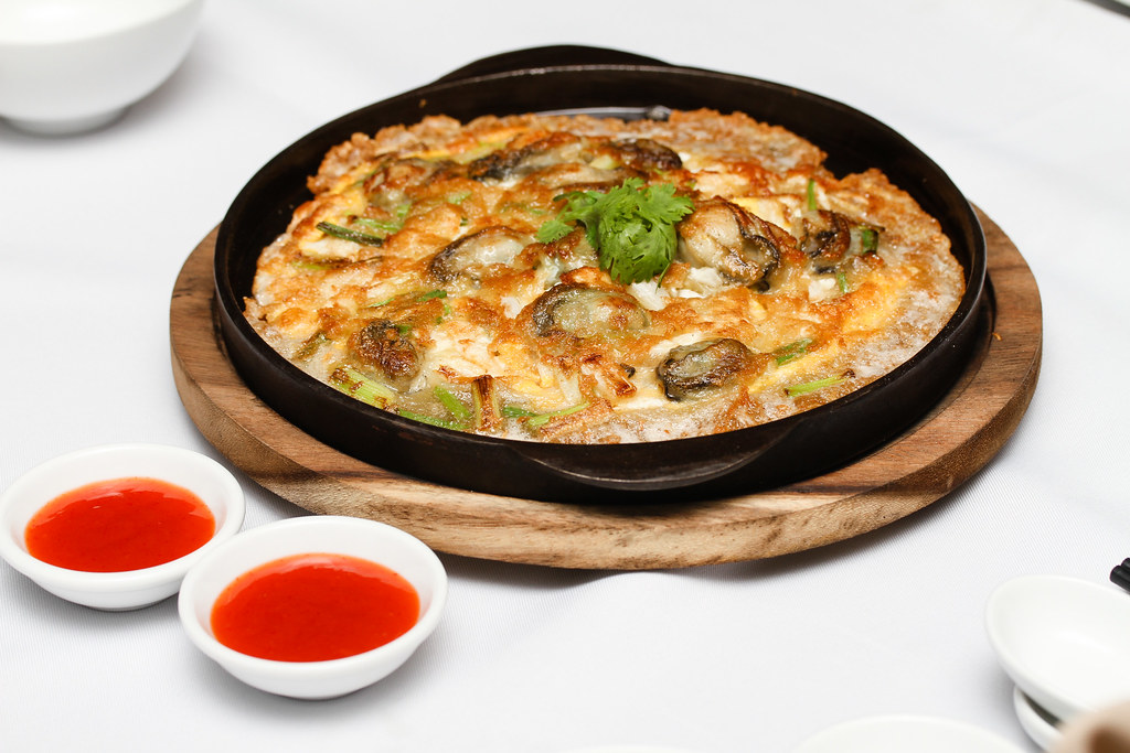 Ping's Thai Teochew Seafood Restaurant: Fried Oyster Omelet