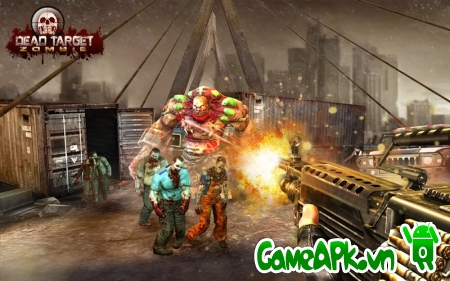 DEAD TARGET: Zombie v1.3.4 hack full cho Android