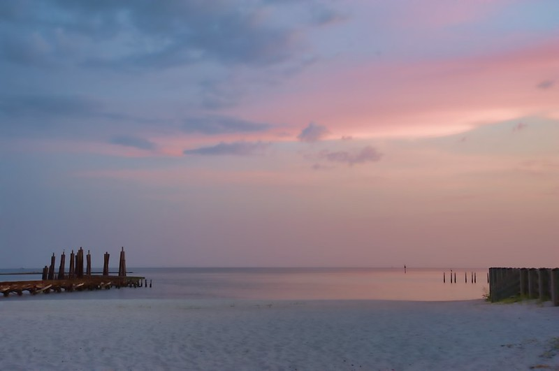 Soft Sunset in Biloxi