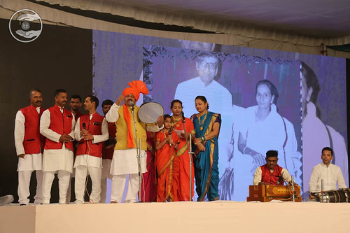 Devotional song on history of Maharashtra by Rajesh and Saathi