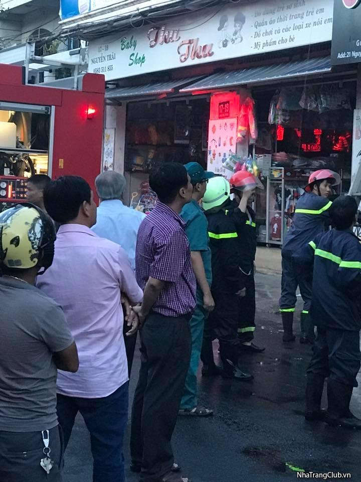 Cháy ở 20 Nguyễn Trãi chiều nay.