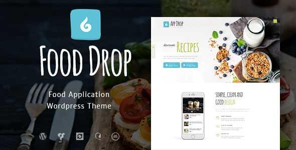 Food Drop WordPress Theme free download