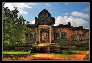 Siem Reap K - Banteay Samre Tempel 01