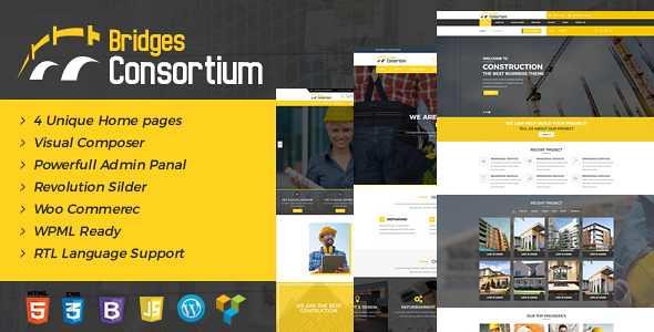 Bridges WordPress Theme free download