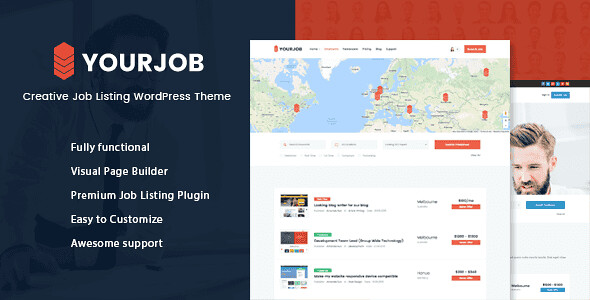 YourJob WordPress Theme free download