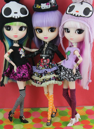 Tokidoki Luna & Tokidoki x Hello Kitty Violetta & Tokidoki Lunarosa