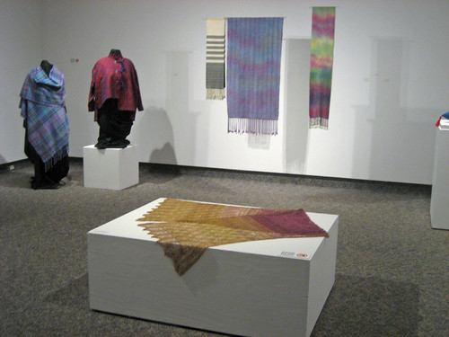 Entering the Plumage 2014 juried exhibition, Burlington Handweavers and Spinners Guild