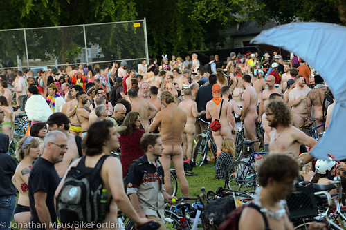 2014 World Naked Bike Ride -12