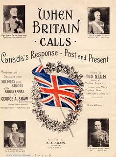 When Britain Calls: Canada's Response - Past and Present / Quand l'Angleterre lance un appel : La réponse du Canada – Par le passé et aujourd'hui