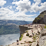Preikestolen (The Pulpit), a different perspective